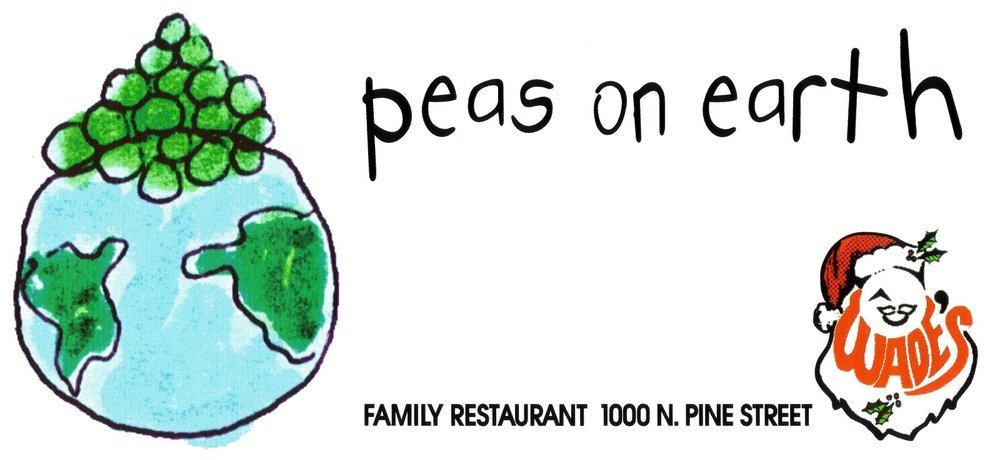 Peas on earth