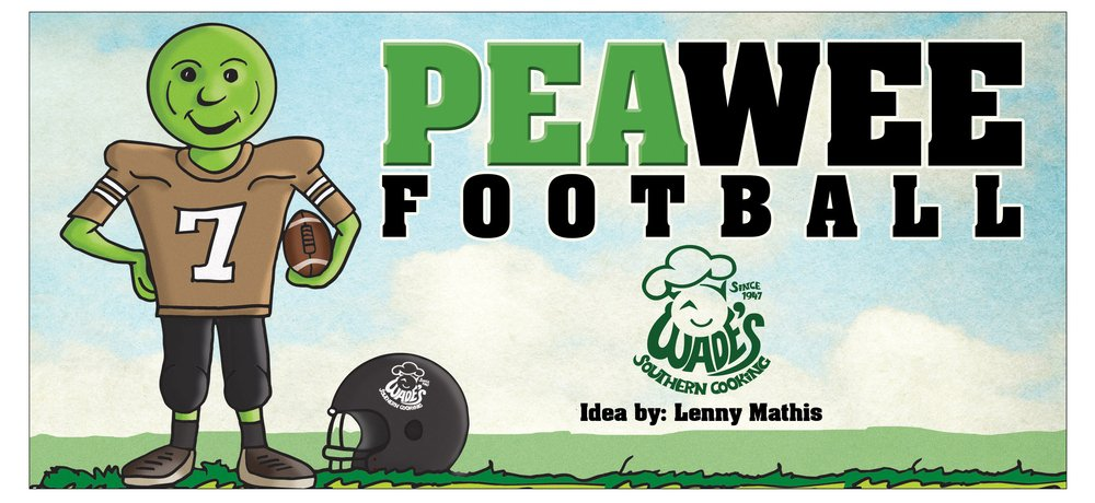 Pea wee football