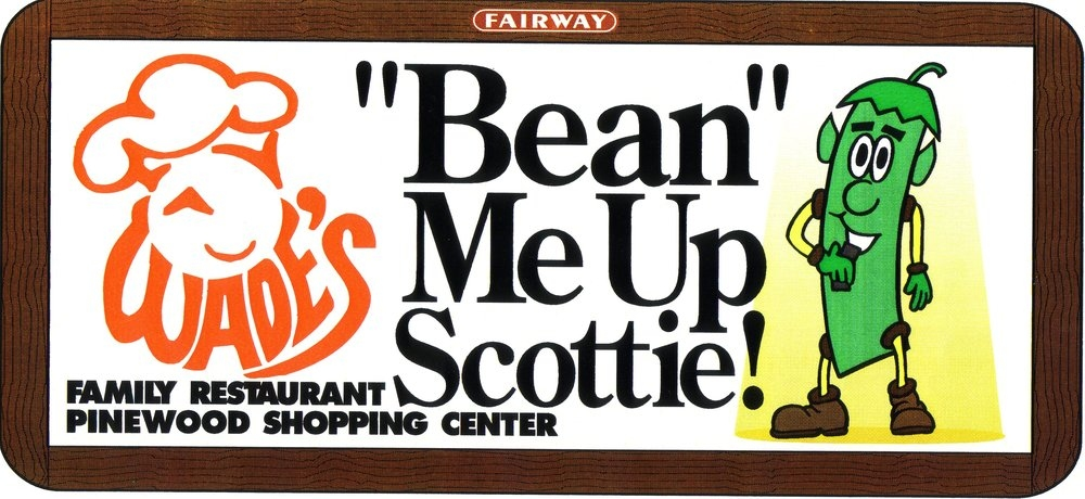 Bean me up Scottie