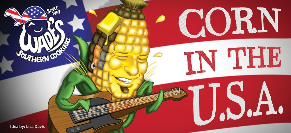 Corn in The USA